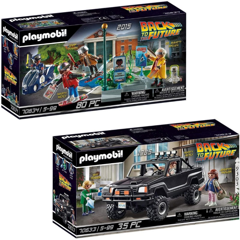 PLAYMOBIL Back to the Future: Verfolgung mit Hoverboard und Marty's Pick-up Truck – ab Mai 2021