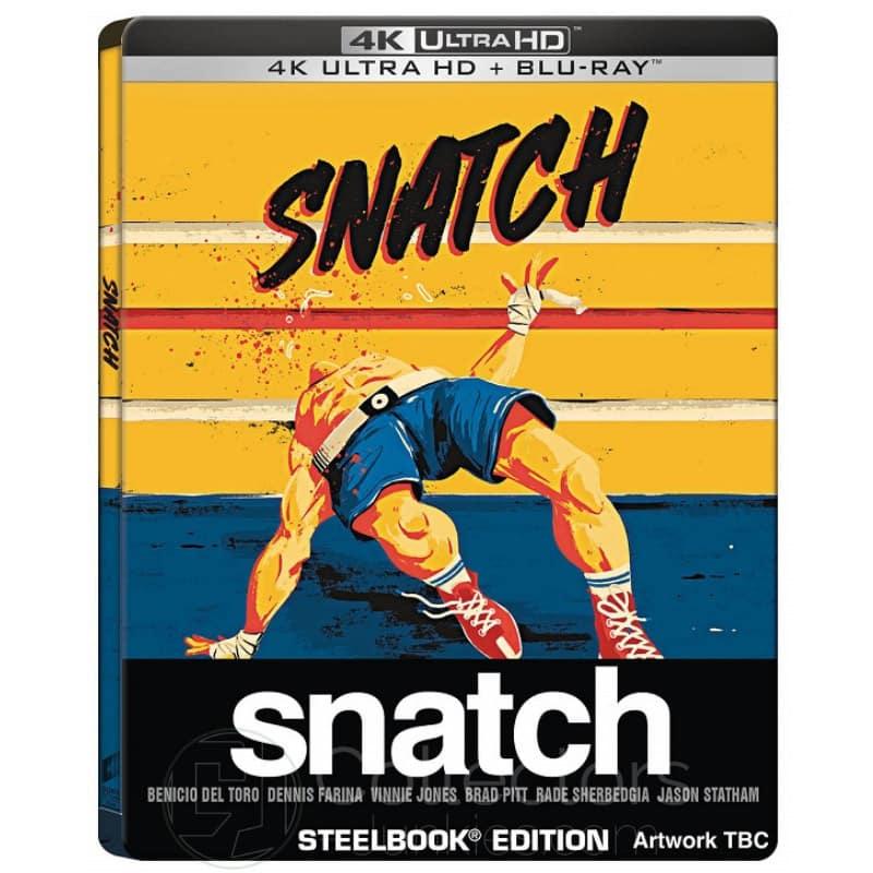 """""""Snatch"""" erscheint im 4K Steelbook (England/ Frankreich)   ab Mai/Juni 2021"""