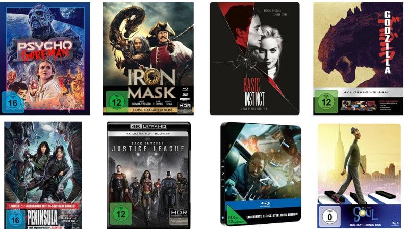13% Rabatt auf Filme, Spielwaren, Hörbücher und Hörbuch-Downloads bei Thalia – unter anderem: Basic Instinct 4K Steelbook für 32,18€