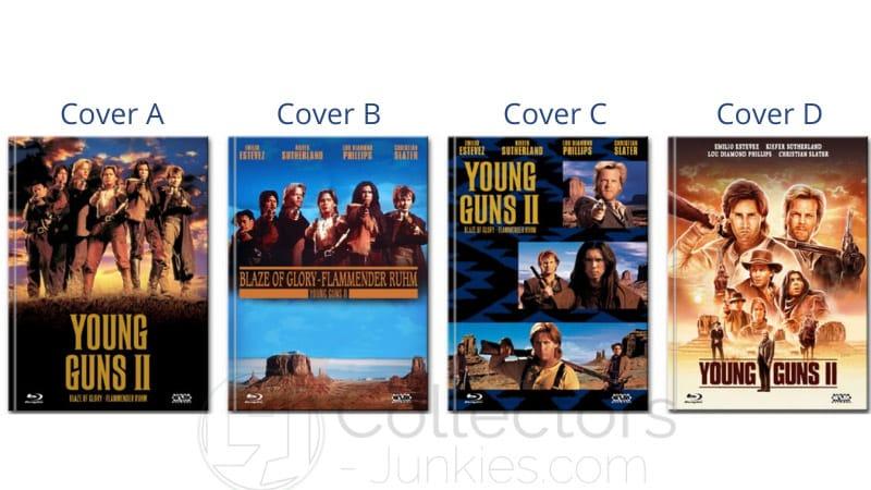 """Young Guns 2"" ab Mai 2021 in 4 Blu-ray Mediabooks"