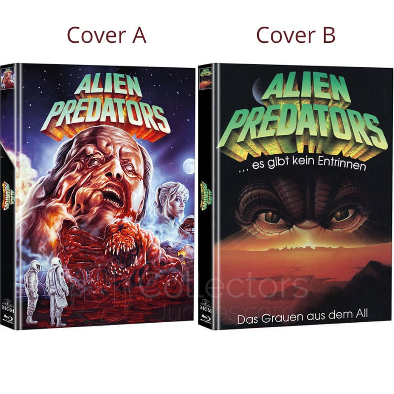 """Alien Predators"" erscheint in 2 Blu-ray Mediabooks 