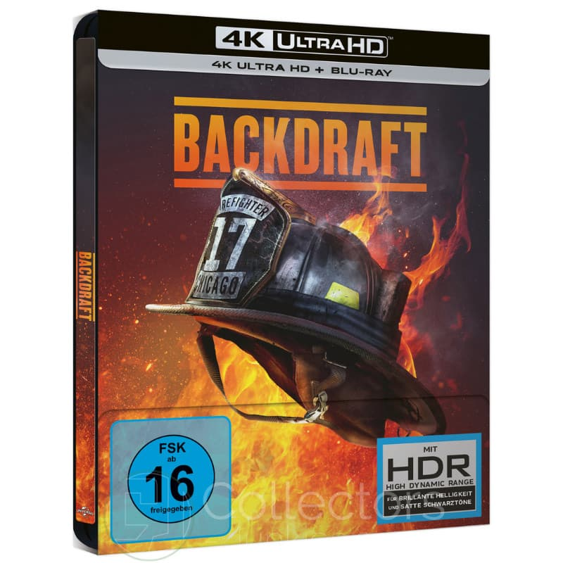 """Backdraft"" ab Juni 2021 im 4K Steelbook"