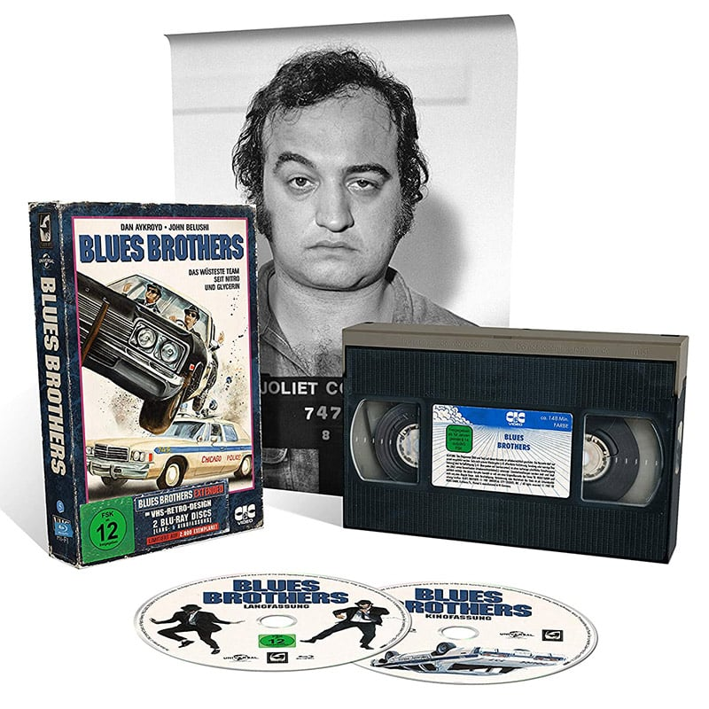 Blues Brothers – Tape Edition (Blu-ray) für 20,99€