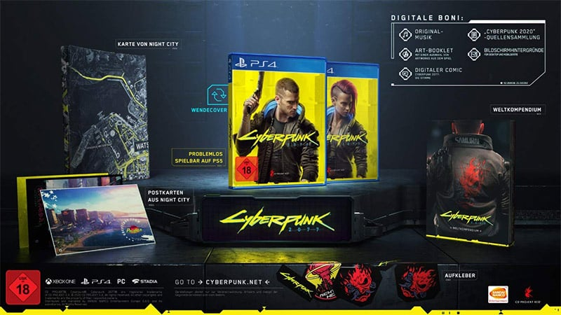 CYBERPUNK 2077 – Day 1 Edition (Playstation 4 und Xbox One) für je 29,99€