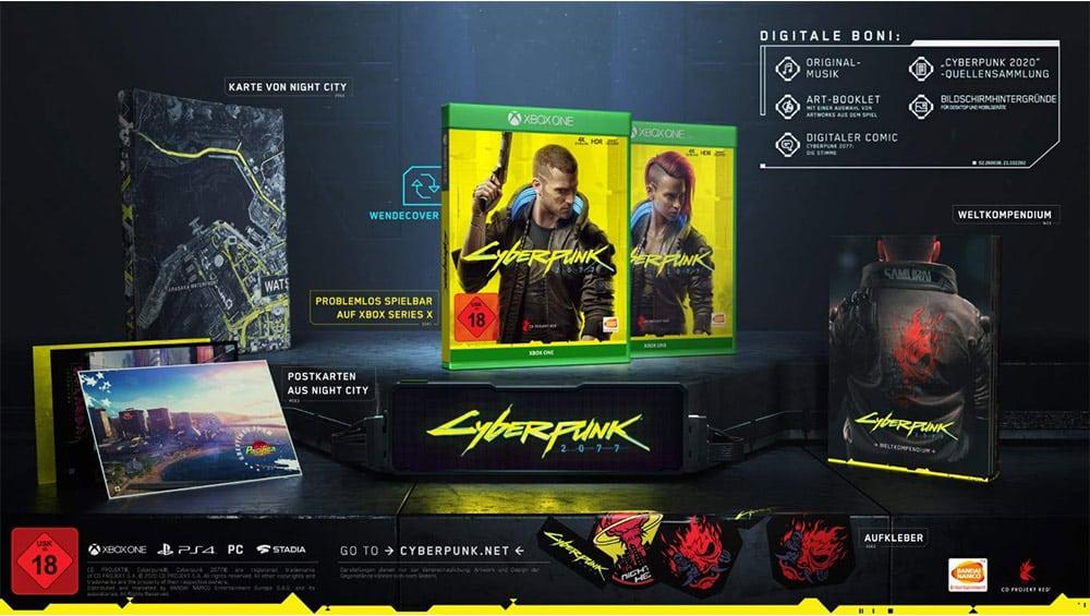 """""""Cyberpunk 2077"""" Day 1 Edition für die Xbox One für 19,99€"""