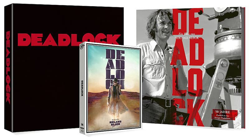 """Deadlock"" ab April 2021 in 2 limitierten 4K Digipak Editionen"
