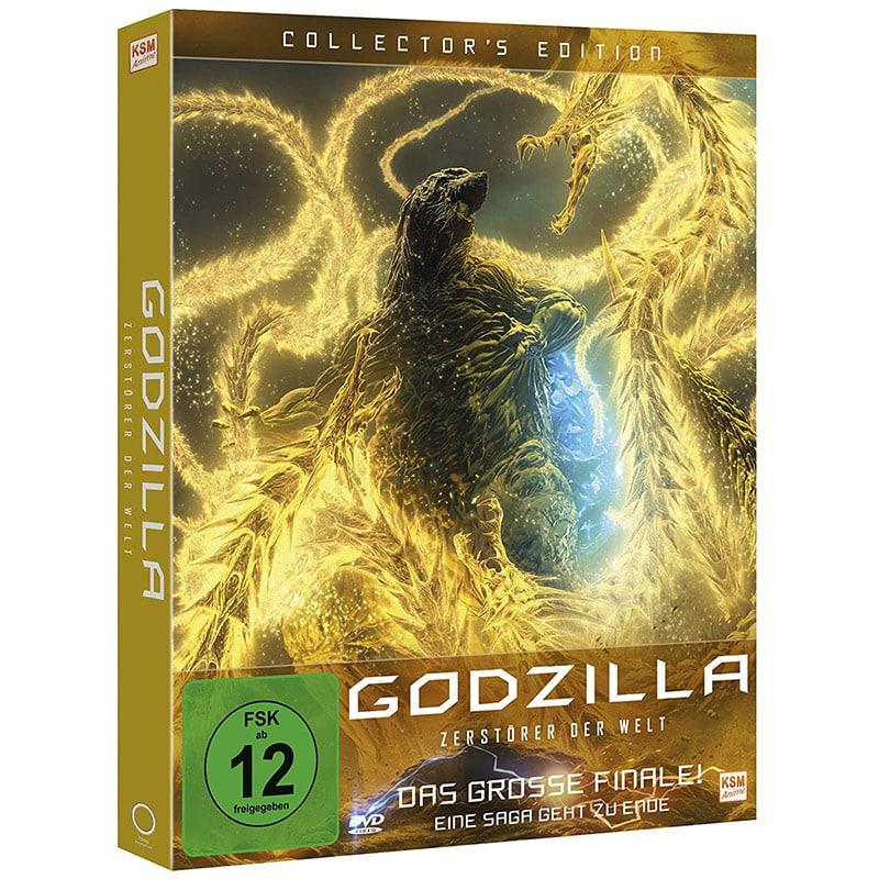 """""""Godzilla: Zerstörer der Welt"""" Blu-ray Collectors Edition für 20,49€"""