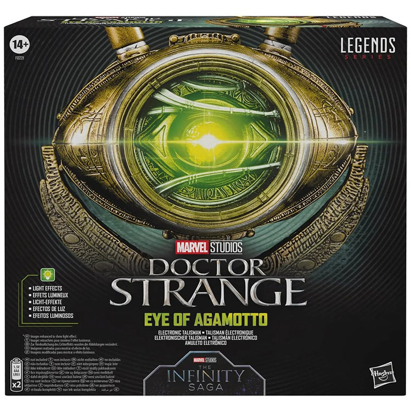 Marvel Legends: Doctor Strange Eye of Agamotto (Hasbro)