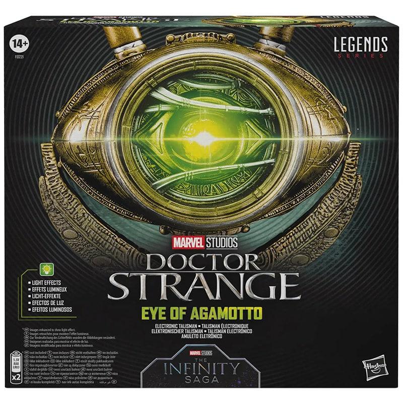 Marvel Legends: Doctor Strange Eye of Agamotto als 1:1 Replik (Hasbro) – Update2