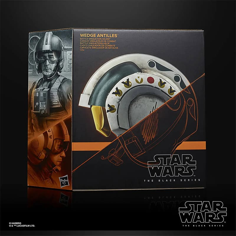 Star Wars The Black Series: Wedge Antilles Battle Simulation Helmet (Hasbro)