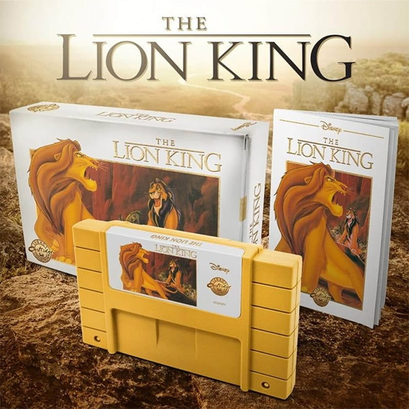 """Lion King Legacy"" erscheint als SNES (US Cartridge) in England 