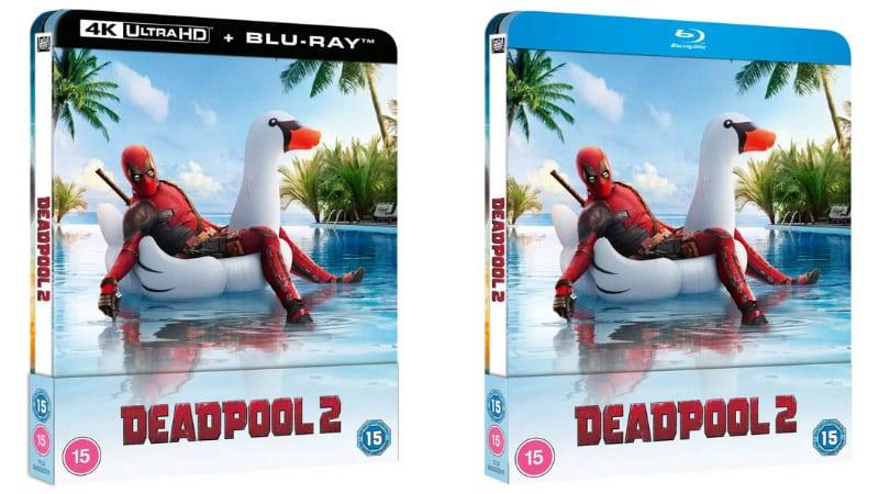 """Deadpool 2"" ab Juni 2021 im 4K- und Blu-ray Lenticular Steelbook (England/Spanien)"
