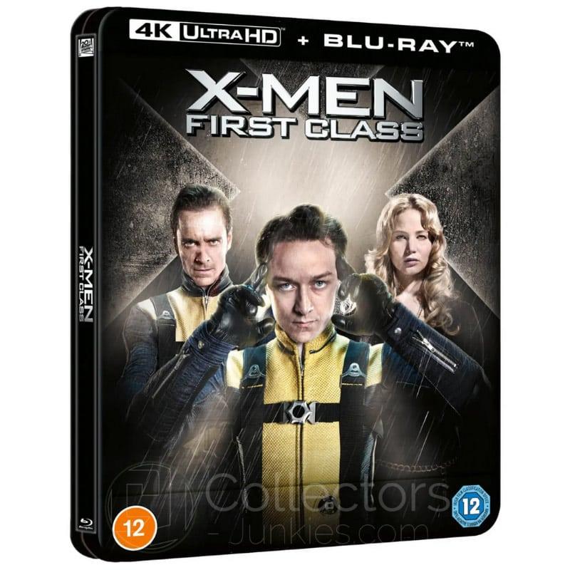 """""""X-Men: Erste Entscheidung"""" erscheint im 4K- und Blu-ray Lenticular Steelbook (England)"""
