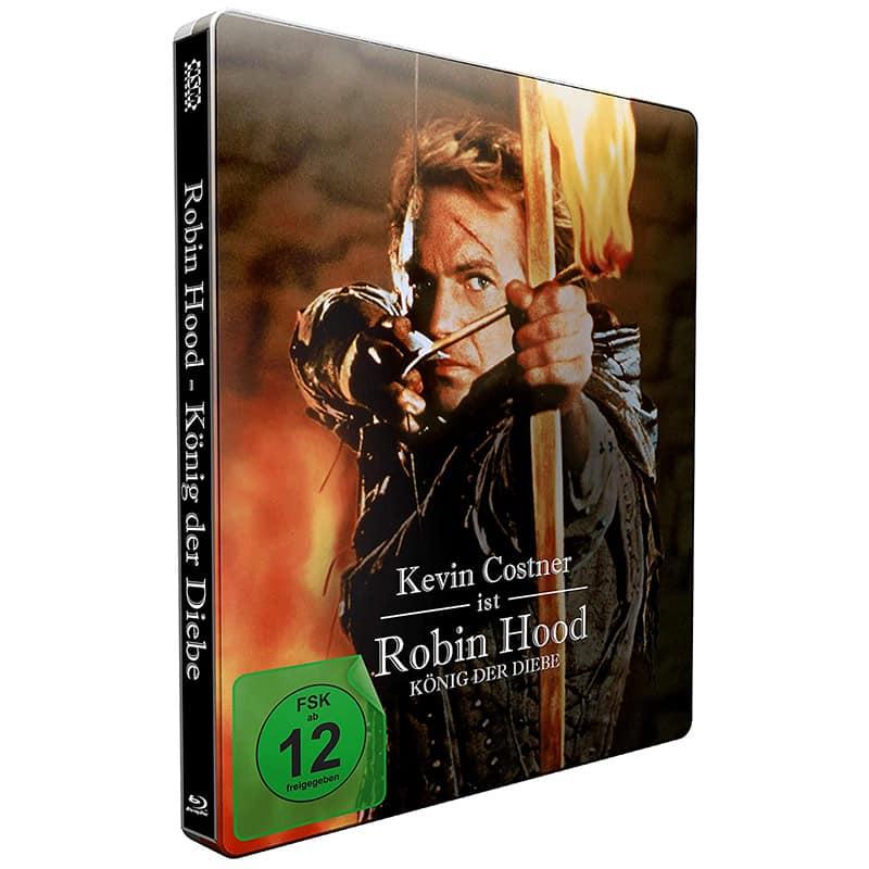 Robin Hood – König der Diebe – Steelbook Edition (2 Blu-ray) für 12,99€