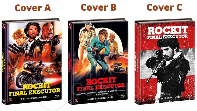 """Rockit – Final Executor"" erscheint in 3 Blu-ray Mediabooks 