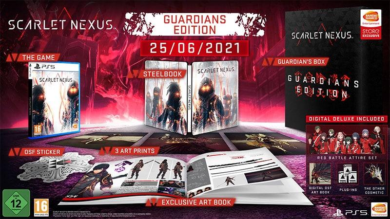 """""""Scarlet Nexus"""" ab Juni inkl. Steelbook und weiteren Varianten (PS5/4, XBXSX/One, PC)"""