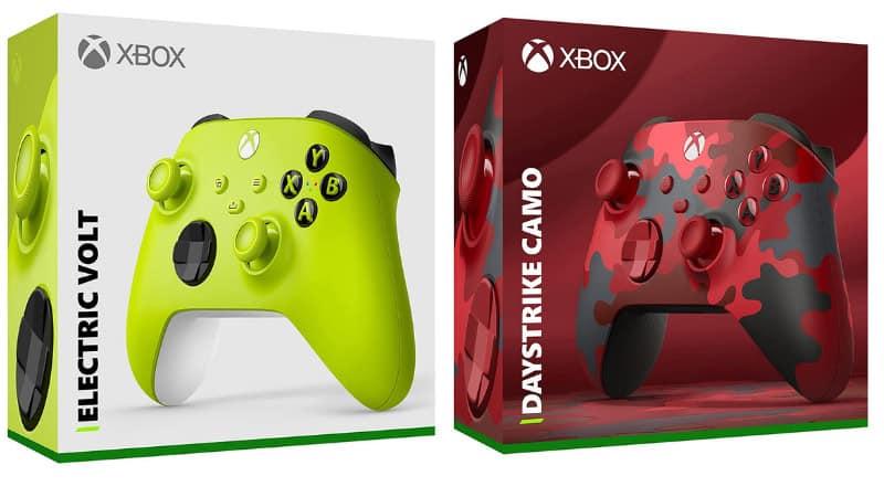 "Xbox Wireless Controller ""Electric Volt"" und ""Daystrike Camo"" | ab Mai 2021"