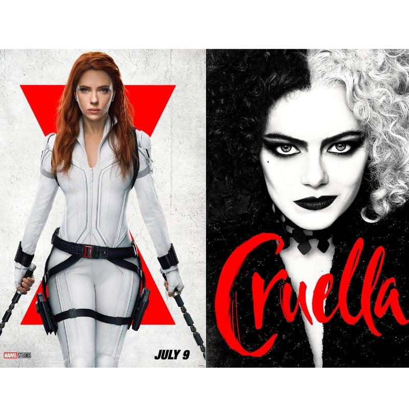 """""""Black Widow"""" und """"Cruella"""" ab Juli 2021 im Kino auf Disney+"""