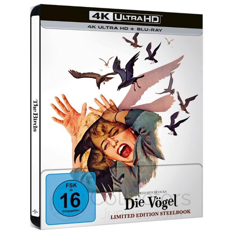 """""""Die Vögel"""" ab Juni 2021 im 4K Steelbook"""
