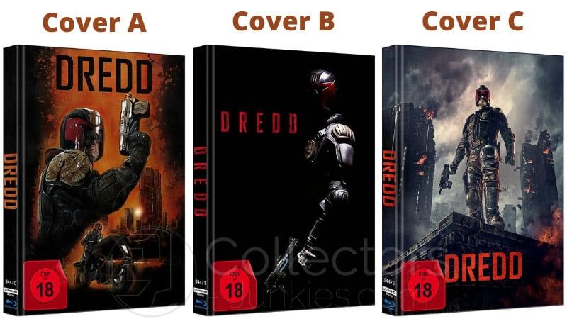 """Dredd (2012)"" erscheint in 3 4K Mediabooks | ab Mai 2021"