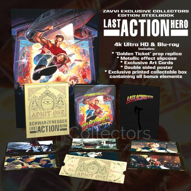 """Last Action Hero"" erscheint in einer 4K Collectors Edition inkl. Steelbook | ab Juni 2021 (England) – Update"