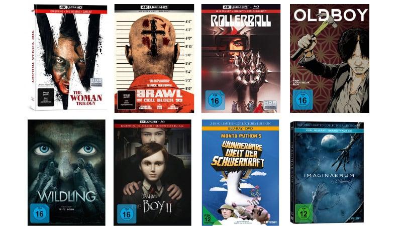 20% Rabatt auf ausgewählte Filme im Mediabook bei Capelight