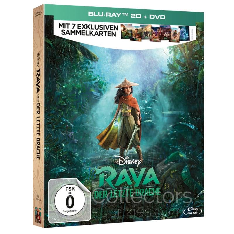 Raya und der letzte Drache im Deluxe Set (Blu-ray + DVD) für 16,99€   Steelbook für 20,99€