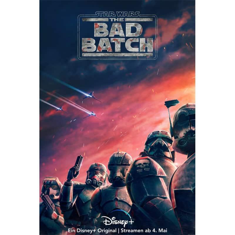 """""""Star Wars: The Bad Batch"""" ab 04. Mai bei Disney+"""