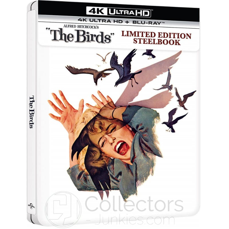 """The Birds"" erscheint im 4K Steelbook   ab Mai 2021 (England)"