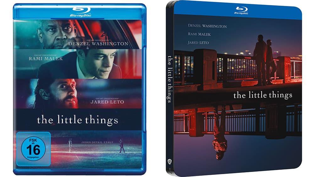 """""""The Little Things (2021)"""" erscheint im Blu-ray Steelbook und in den Standard Varianten auf Blu-ray und DVD (DE/ ES) – Update2"""