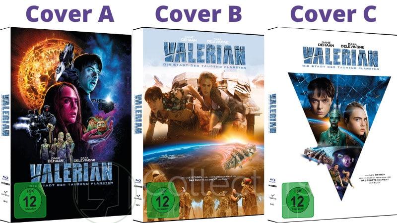 """""""Valerian – Die Stadt der tausend Planeten"""" erscheint in 3 4K Mediabooks   ab Juni 2021"""