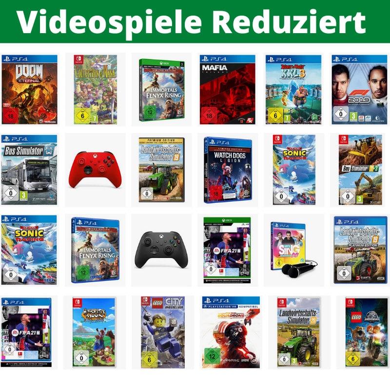 Videospiele reduziert – unter anderem: Mortal Kombat 11 Ultimate für 38,99€ | Harvest Moon: Eine Welt für 36,99€