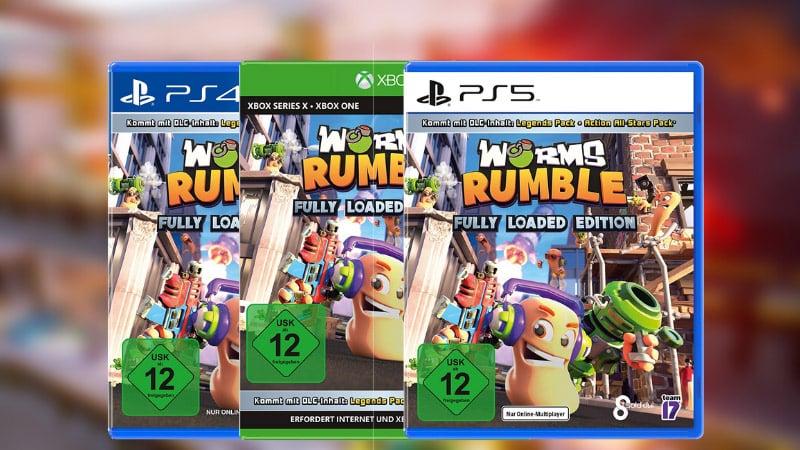 """""""Worms Rumble"""" erscheint für die Playstation 4/5 und Xbox One /Series X/S"""