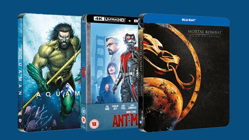 10% Rabatt auf ausgesuchte Steelbooks bei Zavvi (England) – unter anderem: Ant-Man 4K Steelbook für 16,19€