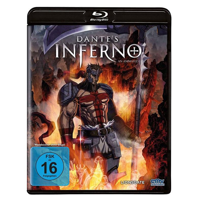 """""""Dante's Inferno"""" ab Juli 2021 als Standard Variante auf Blu-ray und DVD"""