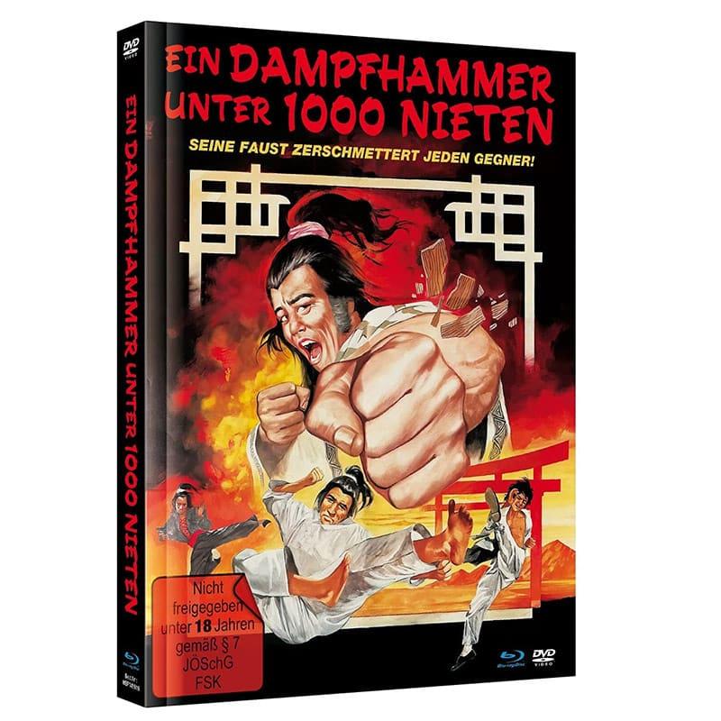 """""""Ein Dampfhammer unter 1000 Nieten"""" ab August 2021 im Blu-ray Mediabook"""