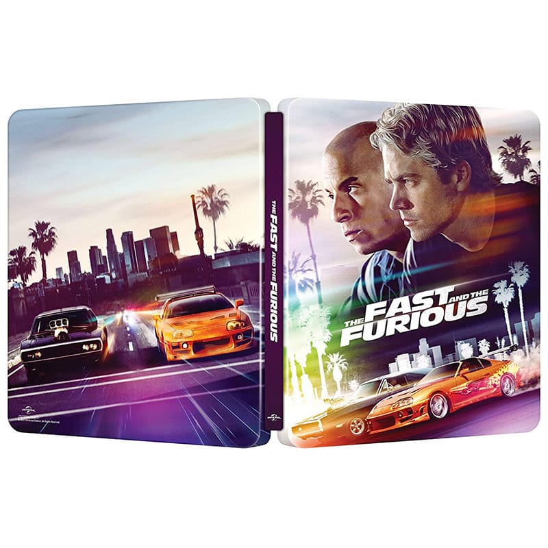 The Fast & The Furious im 20th Anniversary 4K Steelbook (Inkl. Blu-ray) für 27,35€ (Italien)