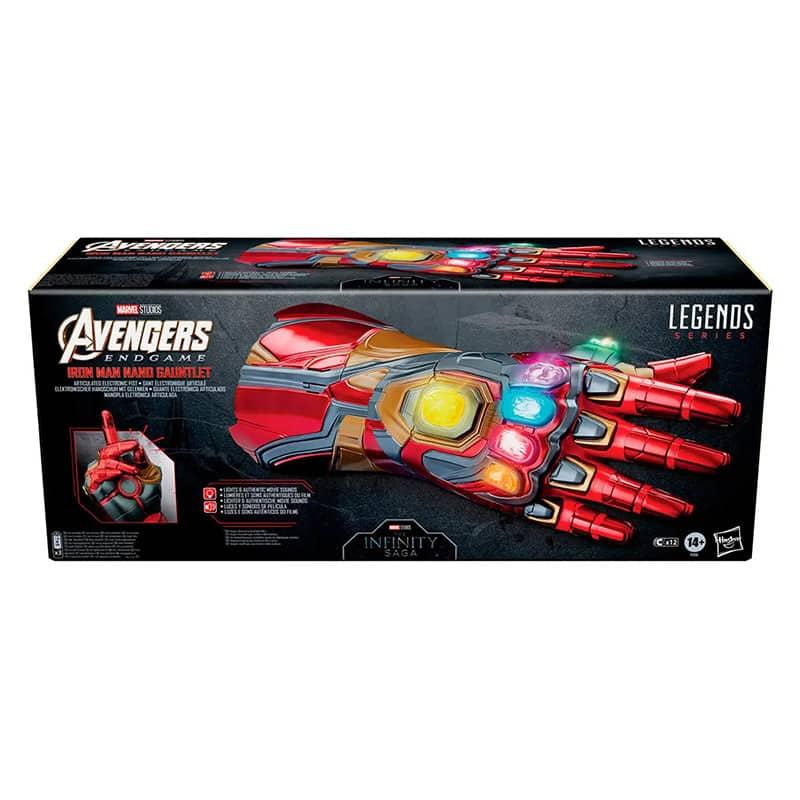 Avengers: Endgame – Iron Man Nano Gauntlet von Hasbro (Legends Series) – Update