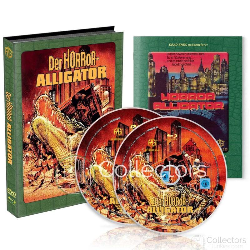 """""""Horror-Alligator (1980)"""" erscheint im limitierten Blu-ray Mediabook (Wattiert)   ab Juni 2021"""