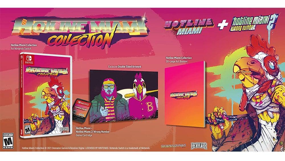 """""""Hotline Miami Collection"""" ab Juli 2021 für die Nintendo Switch und Playstation 4"""