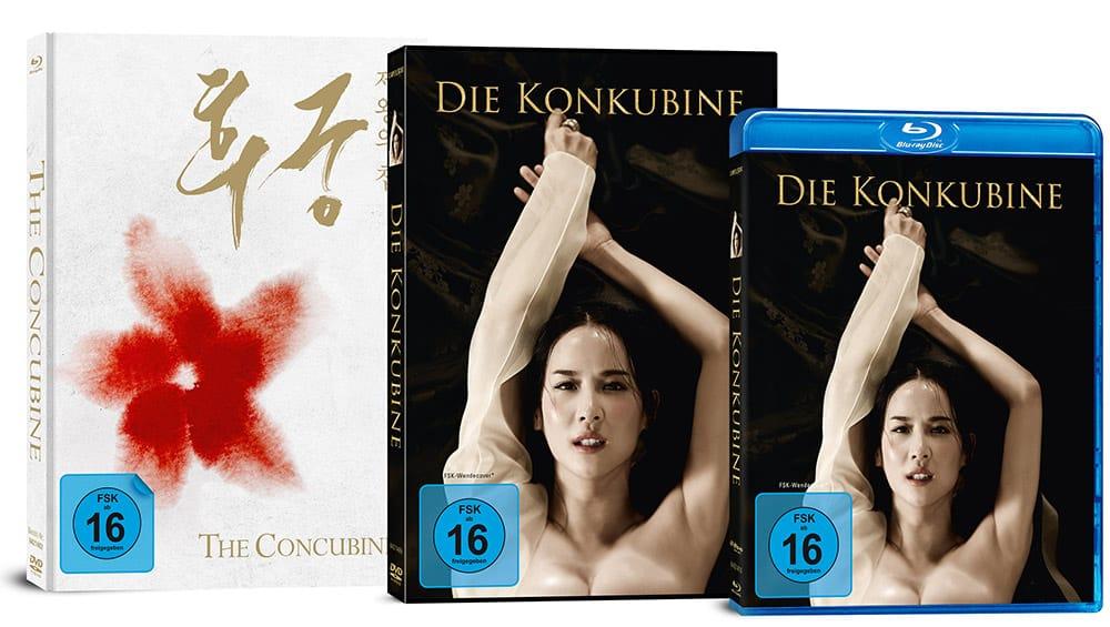 """""""Die Konkubine"""" ab Juli 2021 im Blu-ray Mediabook sowie als Standard Varianten – Update"""