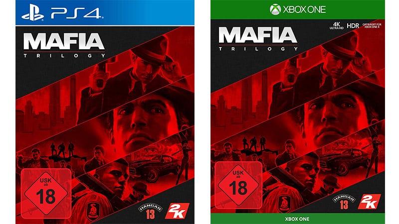 Mafia Trilogy für die Playstation 4 und Xbox One für je 24,99€