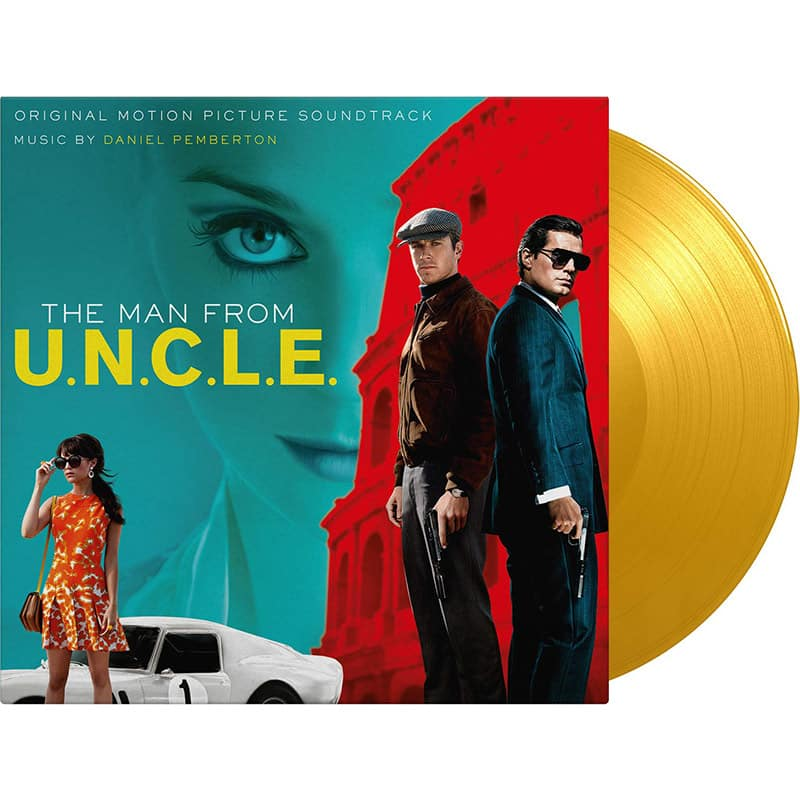 Man From U.N.C.L.E. – Original Motion Picture Soundtrack im limitierten Vinyl Set