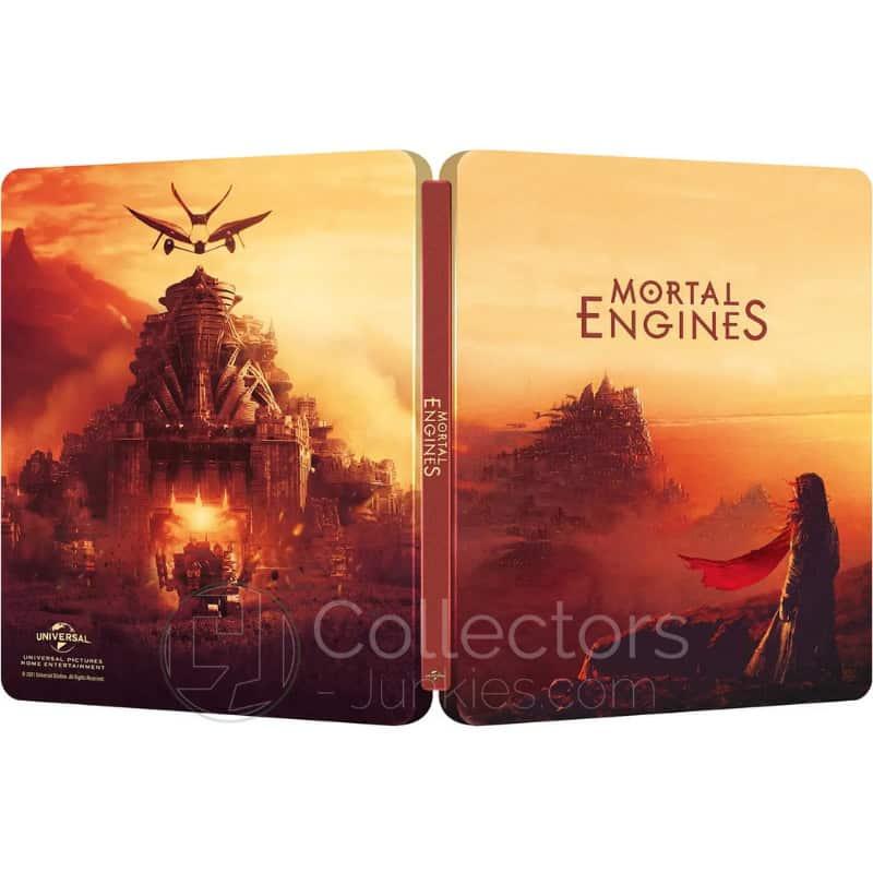 """""""Mortal Engines: Krieg der Städte"""" ab Juli 2021 im weiteren 4K Steelbook"""