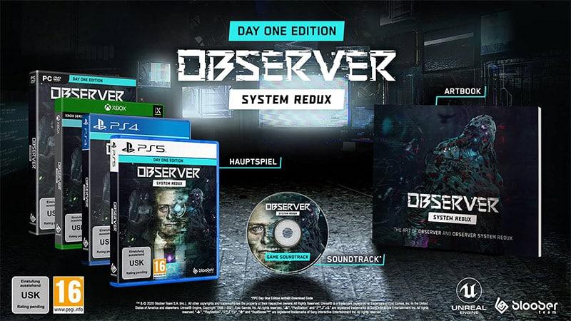 """""""Observer: System Redux"""" ab Juli 2021 in der Day One Edition für die Playstation 5/4, Xbox Series X/S, Xbox One und den PC"""