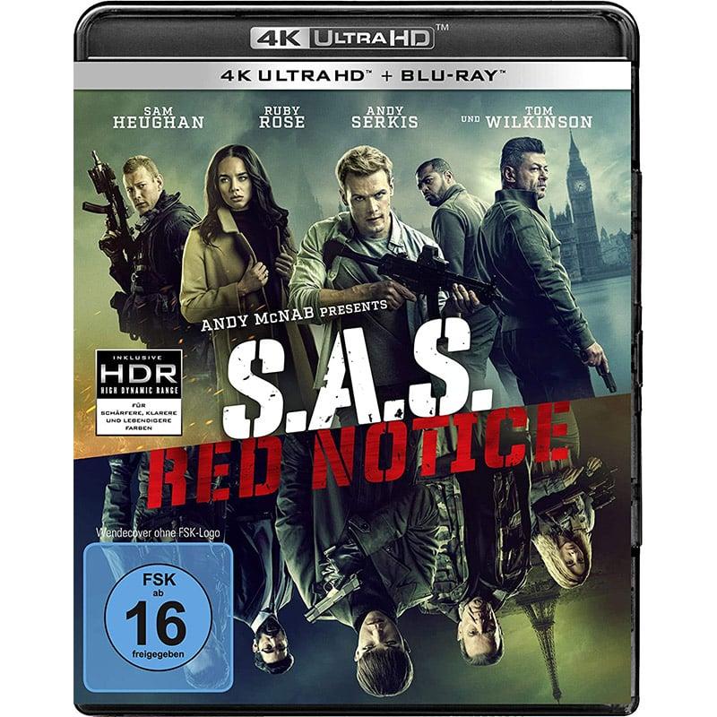 S.A.S. Red Notice auf 4K UHD (inkl. Blu-ray) für 19,99€