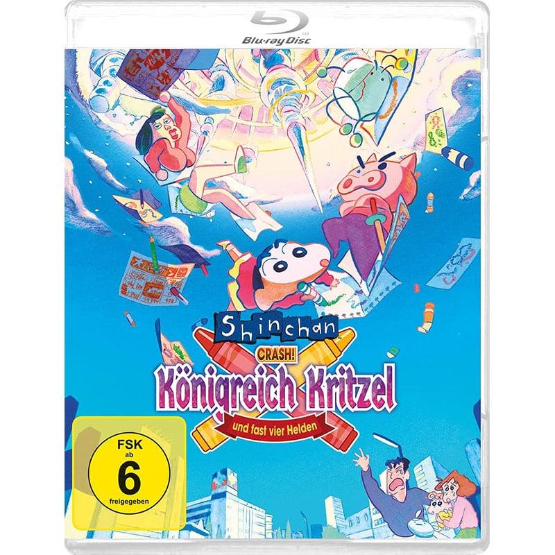 """""""SHIN CHAN – Crash! Königreich Kritzel und fast vier Helden"""" ab Juni 2021 auf Blu-ray"""