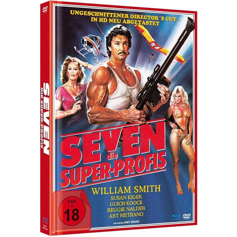 Seven – im limitierten Mediabook (Blu-ray + DVD) für 12,99€