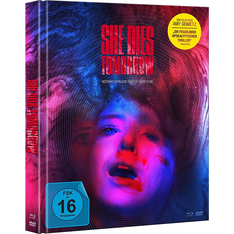 """She Dies Tomorrow"" ab Juli 2021 im Blu-ray Mediabook"
