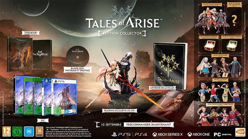 Tales Of Arise – 2 Collectors Editions mit Steelbook und weiteren Varianten | ab September 2021